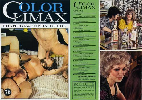 Climax porn color vintage Color Climax