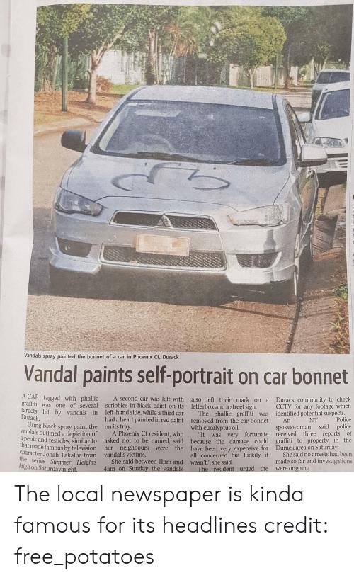 Tinkerbell reccomend car vandals