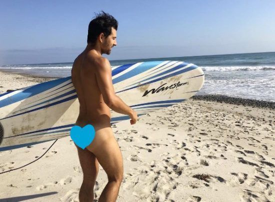 Nudist beach summer beach love