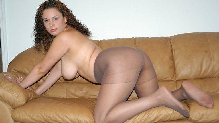 Brown pantyhose movies