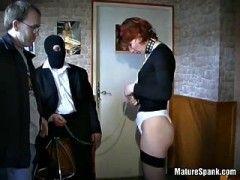 Slave spank spanker
