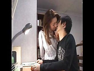 Asian mom blow son