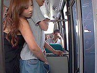 Roma reccomend Bus hand job cum