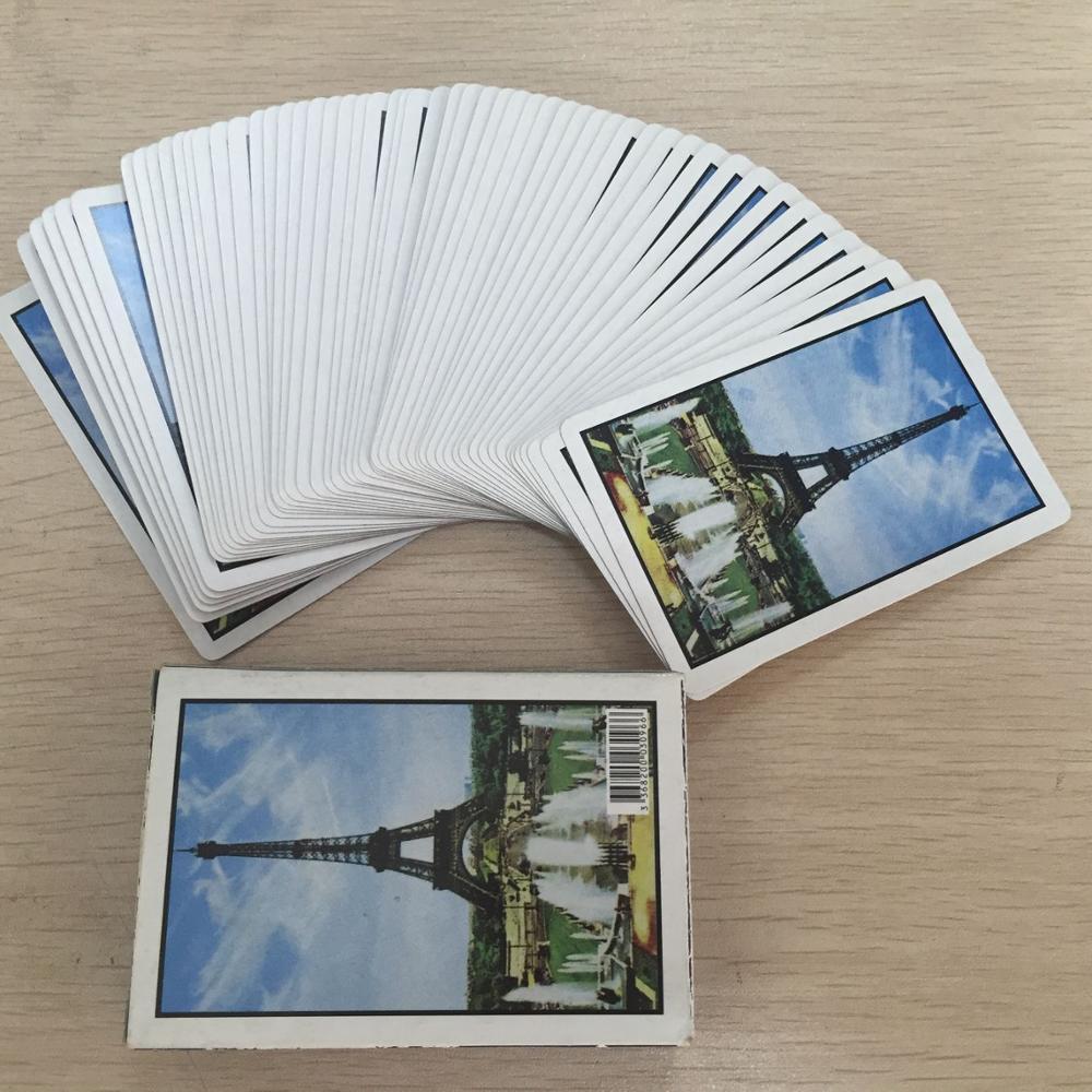 Speelkaarten met joker afbeeldingen