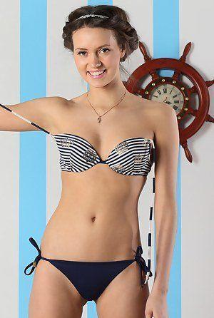 VP reccomend Yong girls modeling swim thong