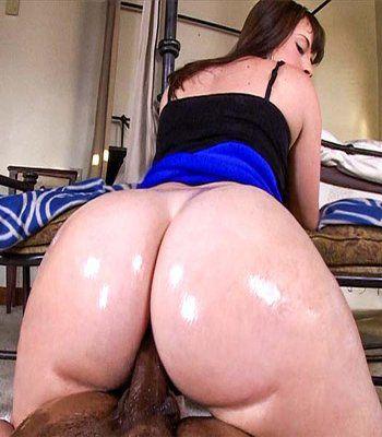 Big white juicy butt