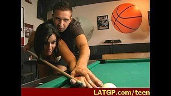 Lunar recomended gangbang video pool table Drunk