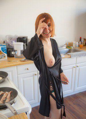 Dark M. reccomend Redhead sagging tits