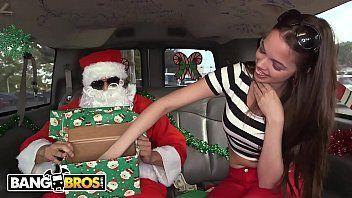 Merry Xmas Santa Claus and the magic boots