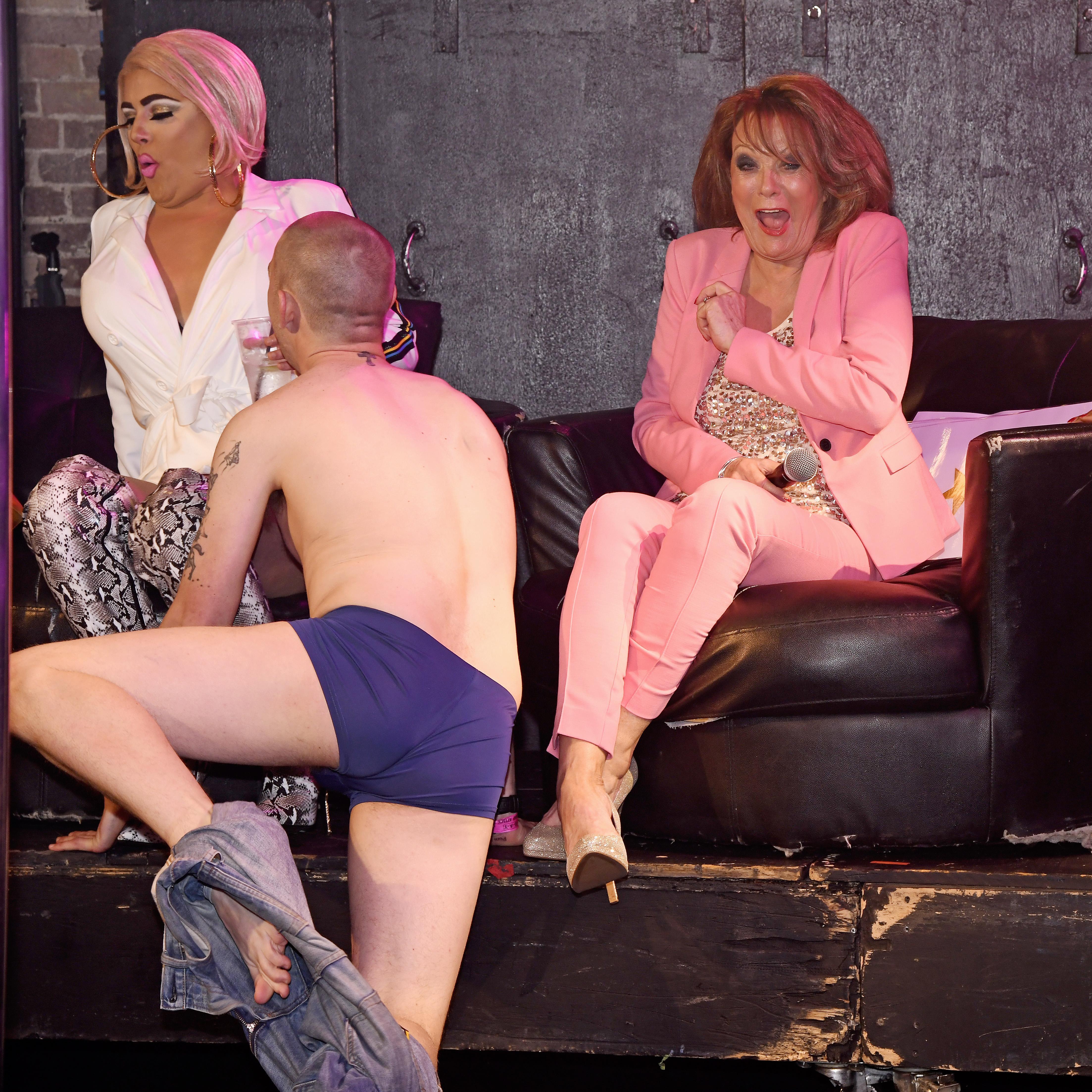 Astro reccomend Loose women strip