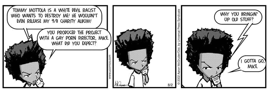Hot B. reccomend Michael jackson cartoon strip