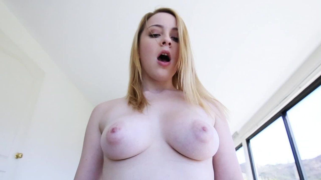 Pale busty rides
