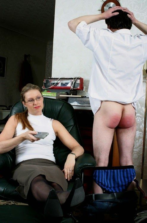 Spank husband femdom
