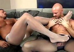 best of Pantyhose hunk Sexy shows stories sex