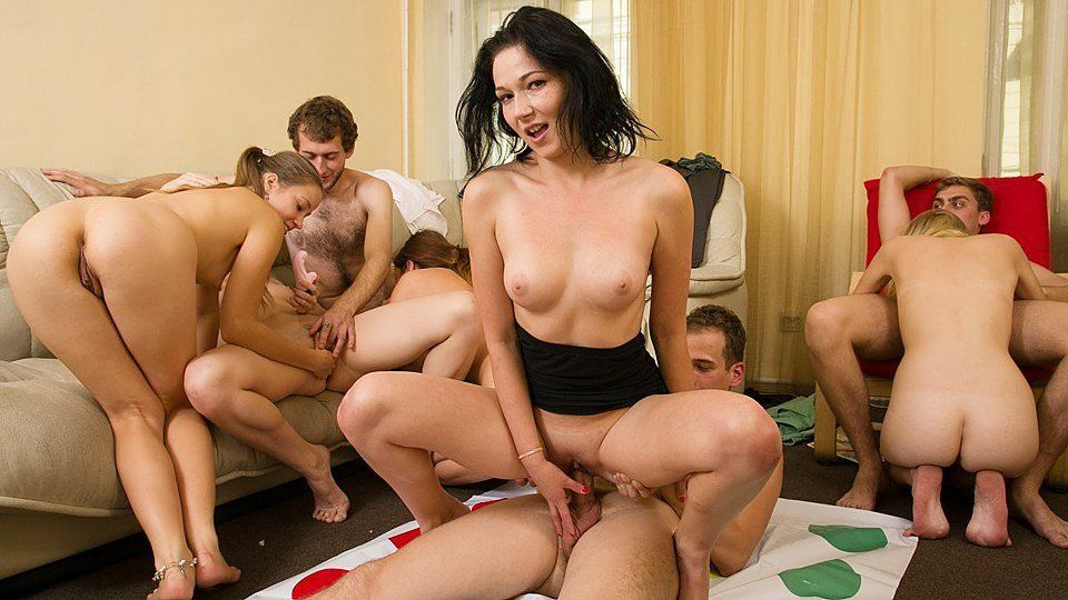 best of Fucking in orgie Students a