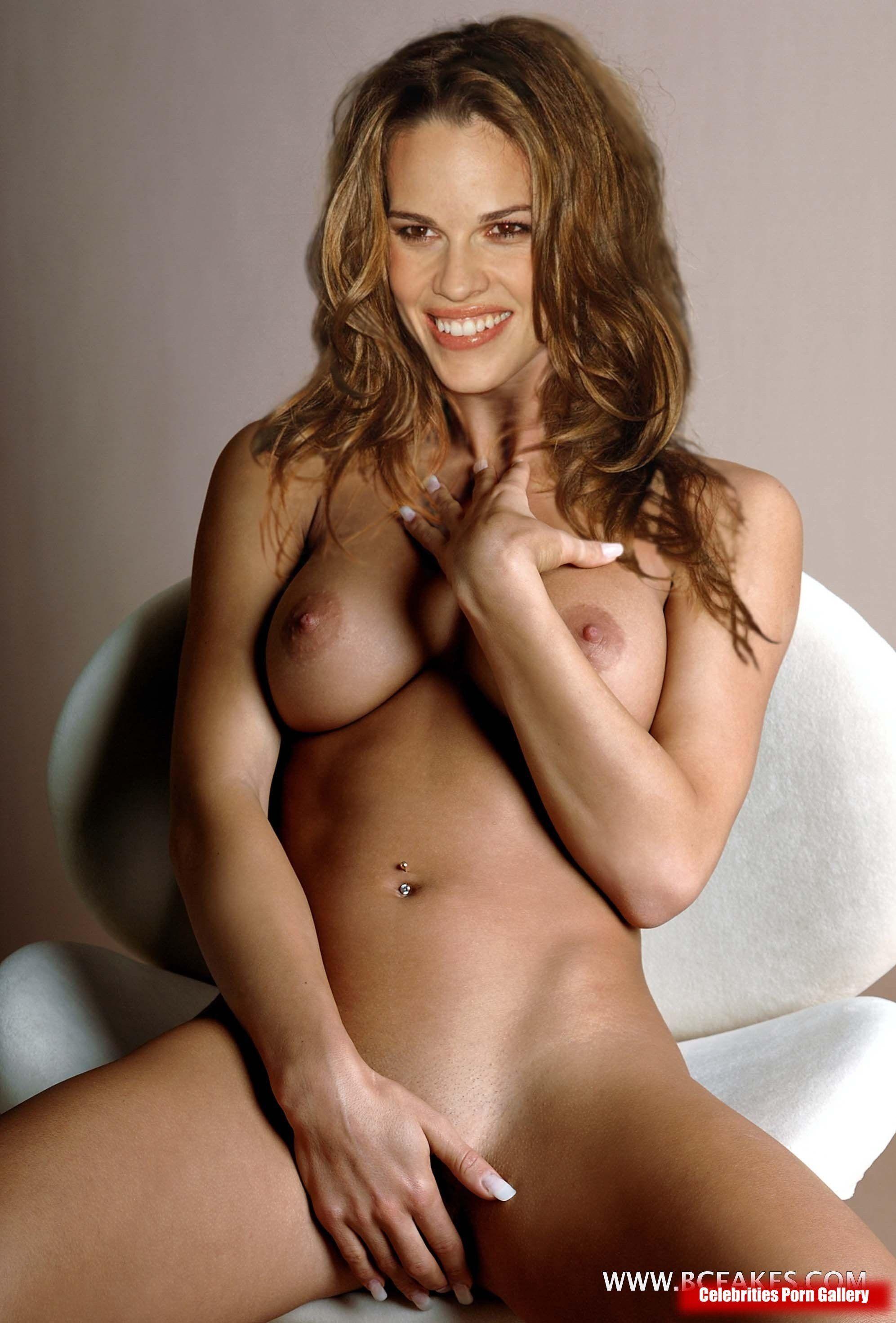 best of Swank fakes Hilary naked