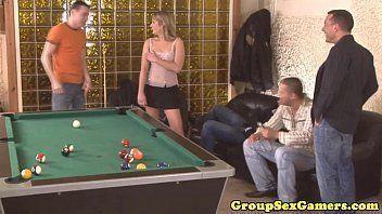 Undertaker reccomend Drunk gangbang video pool table