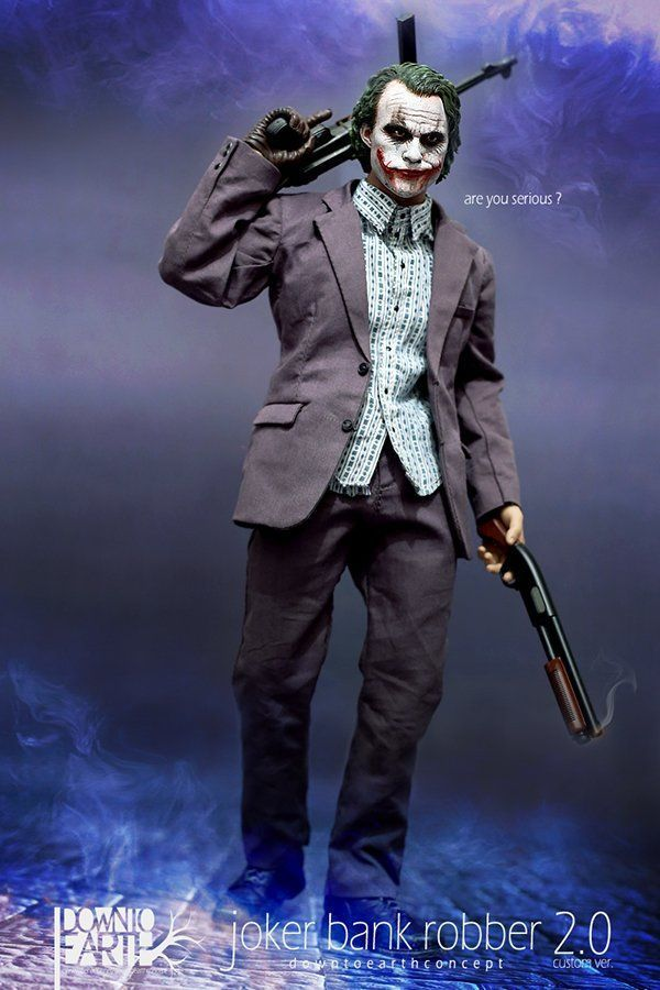 best of Figure joker Bank robber