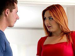 Poppins recommendet Perfect Redhead Teen Rides Cock Before The Gym - Amber Addis.