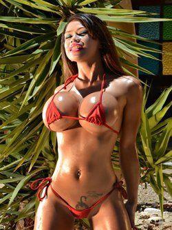 best of Blue bikini Sasha