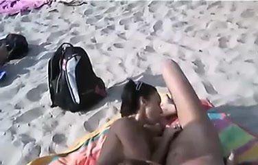 best of Handjob beach porn Secret