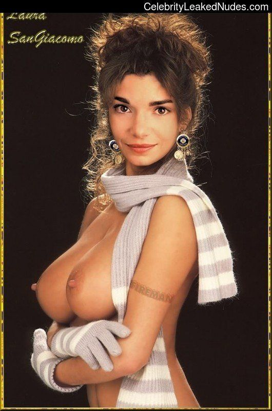best of Fake breasts Laura or giacomo san real