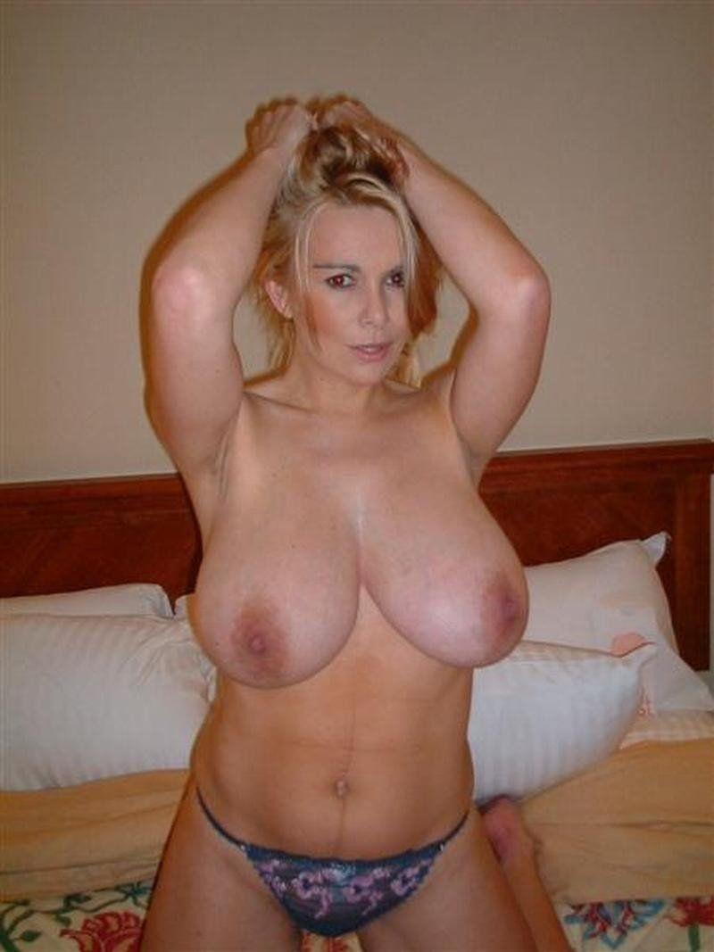 Big boob blonde milf