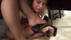 Nude women in seductive position