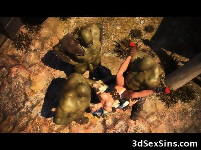 Sideline reccomend 3d orc gangbang