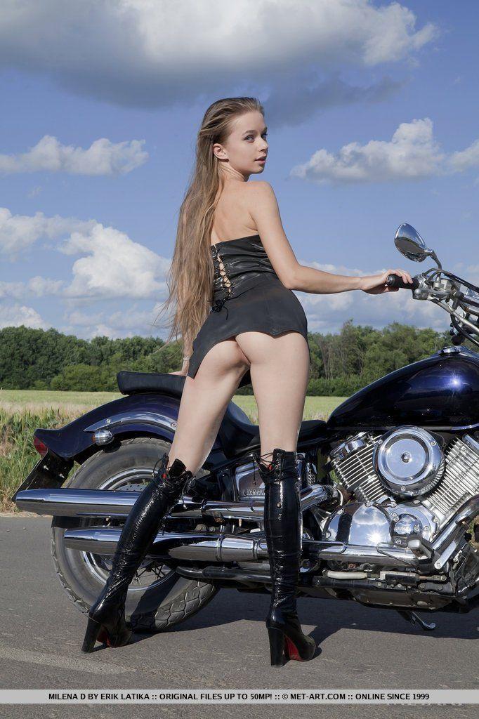 Hot girls on motorcycles xxx