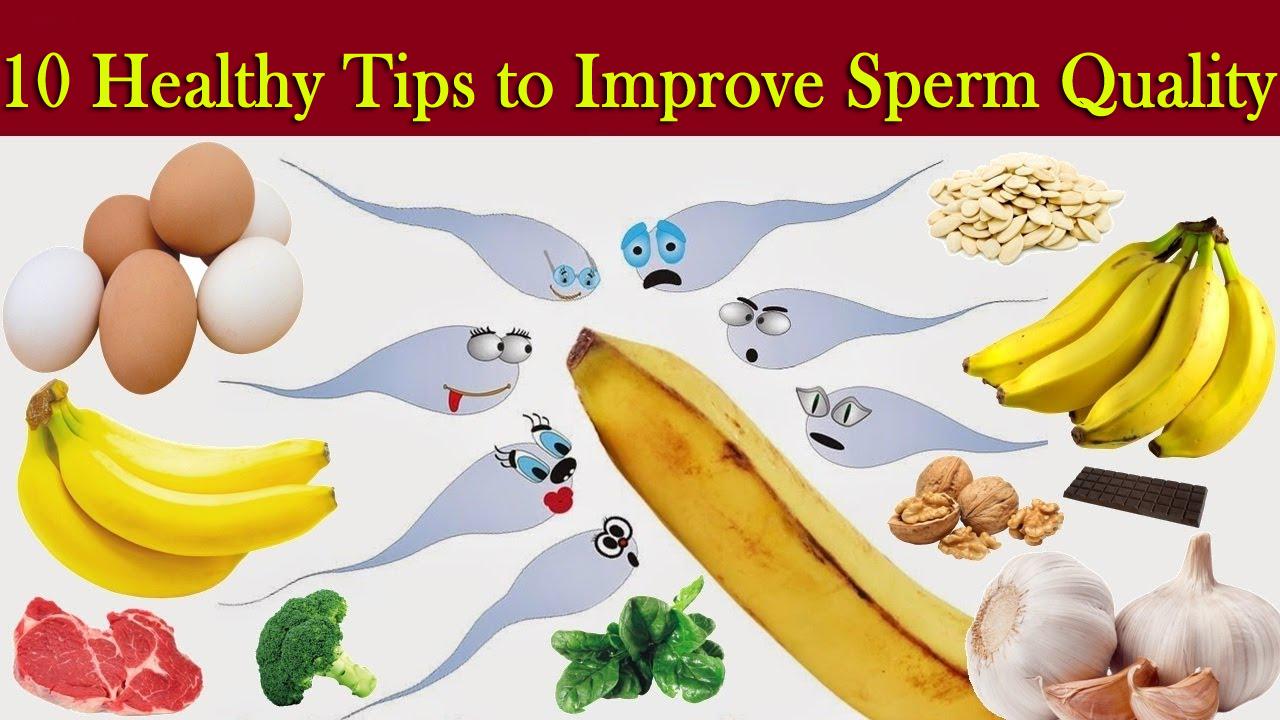 Dahlia reccomend Improving sperm health naturally