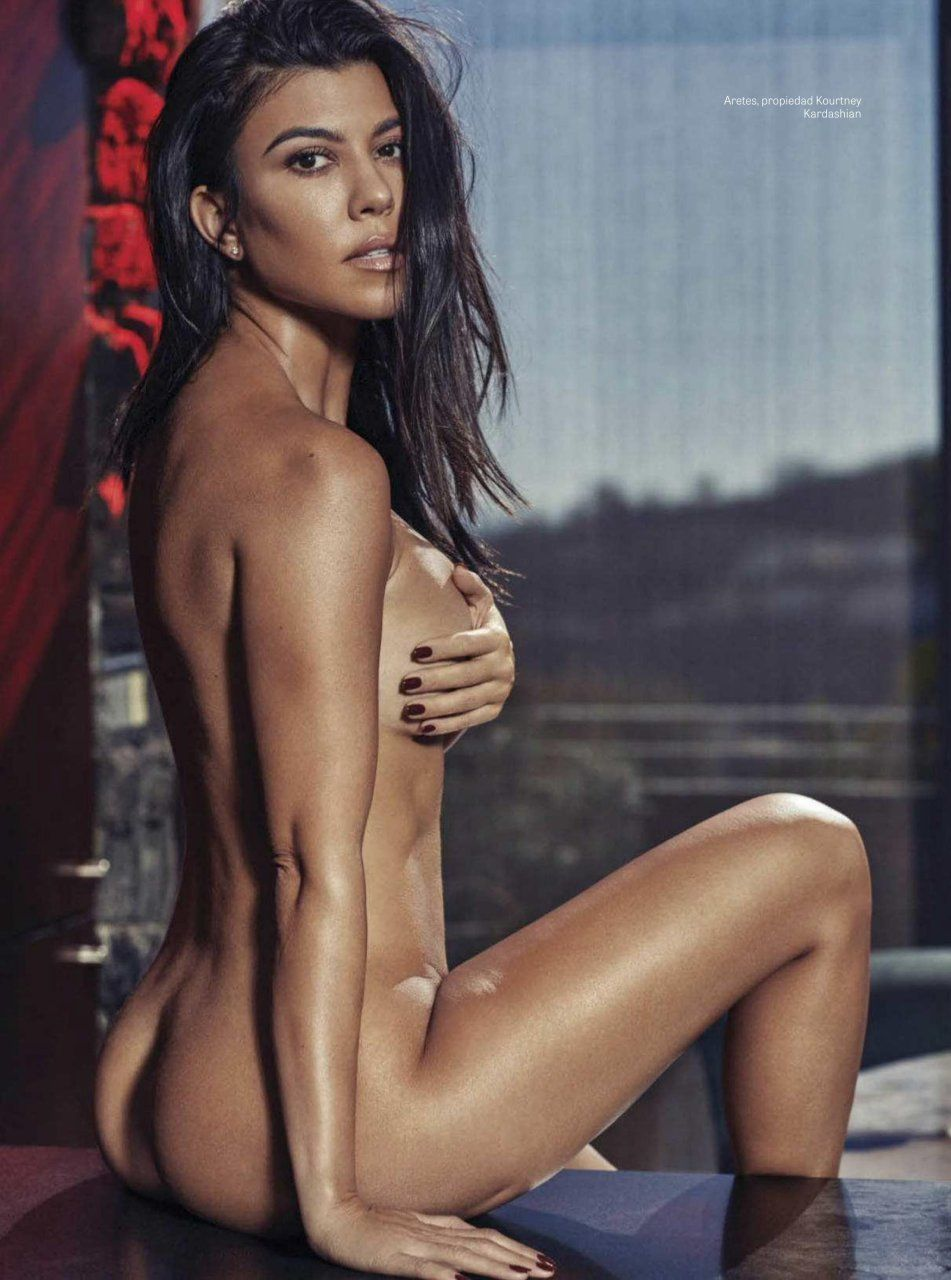 best of Sex nude kardashian having Kourtney