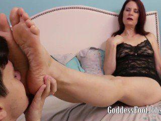 Deck reccomend Mistress footjob movie