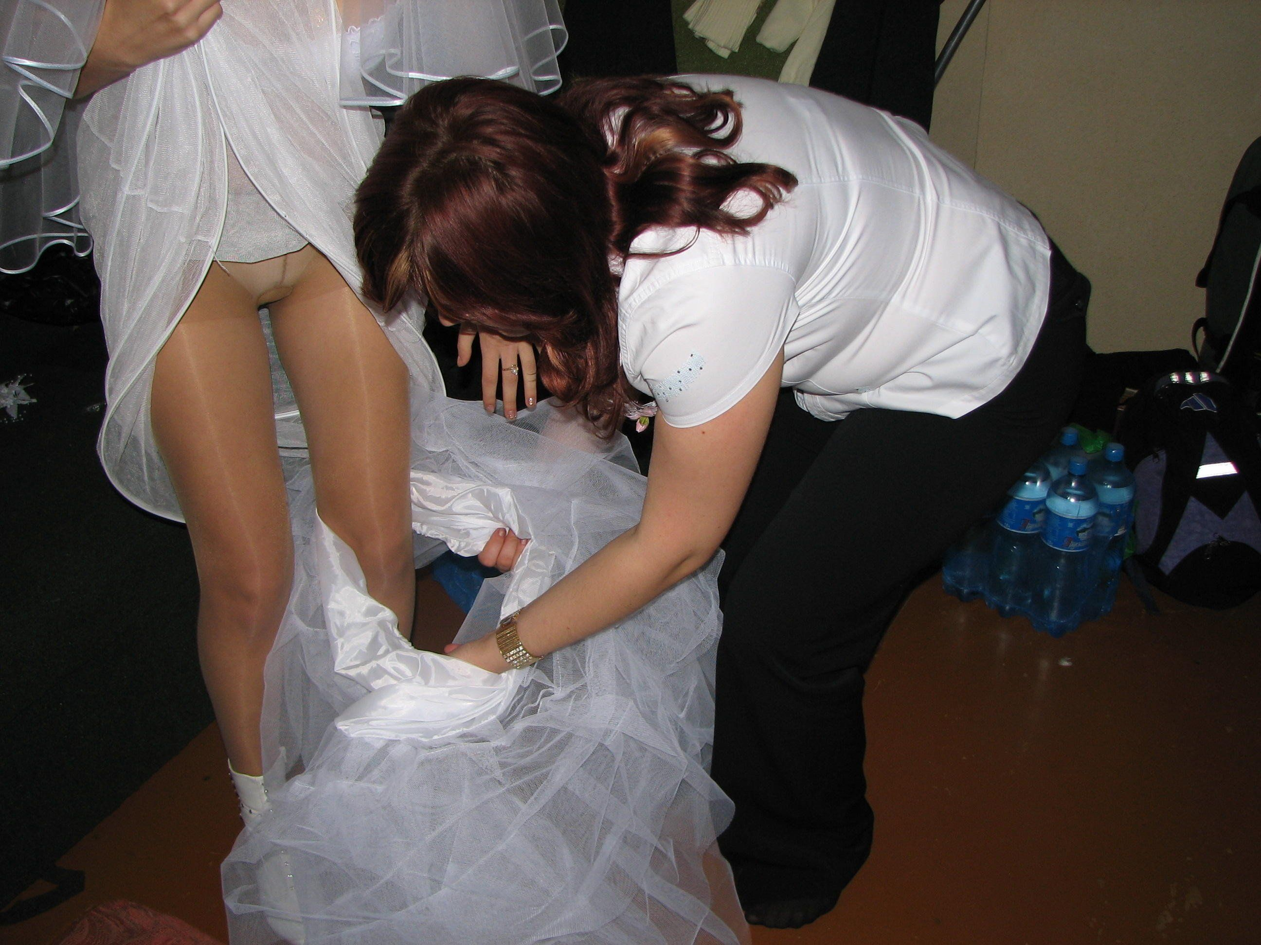 best of Upskirts Naughty bride