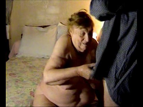 Older mature hairy grandmother homemade videos