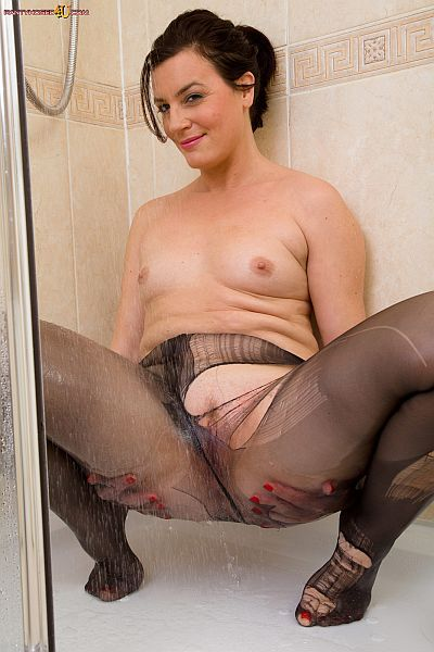 best of Into Pantyhose pussy stuffed