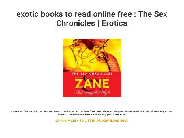 best of Chronicles online read by zane Sex