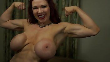 best of Tits big with muscle Sexy women