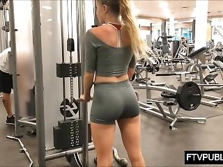 best of Gym booty tan Sexy girl