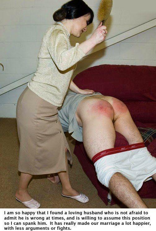 Basket reccomend Spank husband femdom